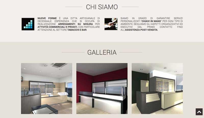 Nuove forme arredamento new age software agenzia web e - Siti design arredamento ...